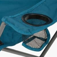 Highlander Duart Folding Camping Chair - Blue